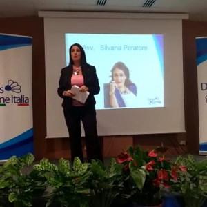 L'Avvocato Silvana Paratore presenta il convegno