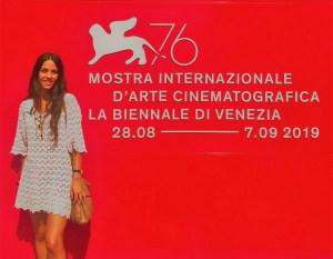 Doriana Rapisardi alla Mostra del Cinema di Venezia
