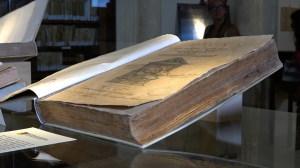 Un volume antico in mostra