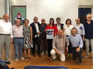 La foto di gruppo dello staff organizzativo