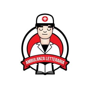 Il logo del progetto Ambulanza Letteraria