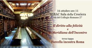 Meridiana dell'Incontro a ROMA 16 ottobre