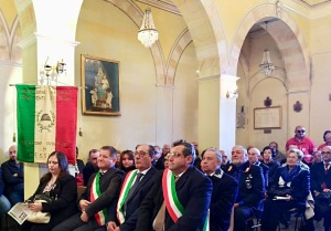La S. Messa con i sindaci