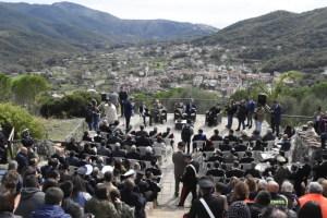 I partecpanti alla cerimonia