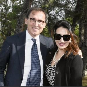 L'avv. Silvana Paratore con il Ministro degli Affari Regionali del Governo On. Francesco Boccia