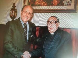 Padre Pintacuda con Armao