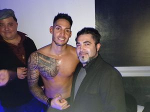 Silvio Angrisani e Tony Flex