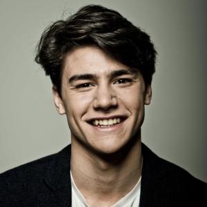 Il giovane attore Vittorio Magazzù