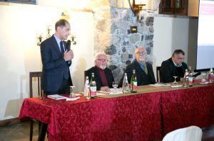 La presentazione del libro da parte del dott. Sergio Visconti