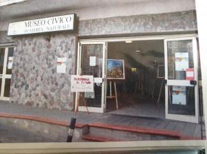 Una Mostra di pittura  di qualche anno fa al Museo Civico