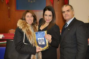 Il Viceprefetto dott.ssa Natalia Ruggeri, l'avv. Silvana Paratore e il Presidente ANIOMRID Cav. Uff. Francesco Frazzetta