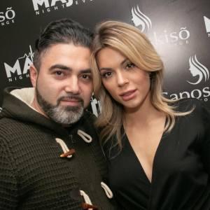 Silvio Angrisani con Ludovica Pagani