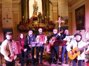 I musicanti del Gruppo Folk Naxos