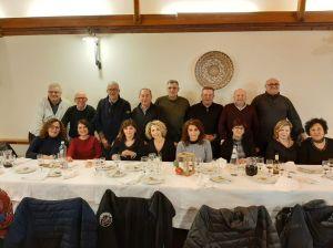 La foto di gruppo degli ex studenti dell'ITC di Taormina