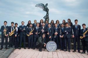 I musicisti dell'Associazione Musicale Carmelo Puglia