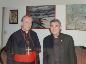 Assieme al Cardinale Montezemolo per i 50 anni della parrocchia di San Pancrazio