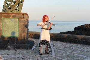 La violinista Luisa Grasso