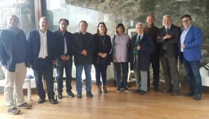 Una foto di repertorio di una rappresentaza dell'UCSI con il presidente Domenico Interdonato
