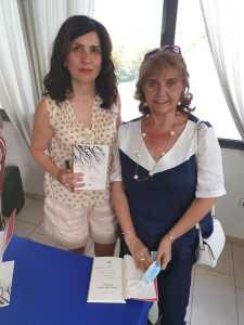 Nadia Terranova con la prof.ssa Grazia Intersimone