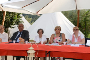 Da sin. Il Sindaco Blancato, Ada Tripolone, Angela Lombardo e la prof. Angela Vecchio