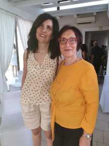 Nadia Terranova con Angela Giuttari