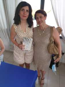 Nadia Terranova con Daniela Diamante