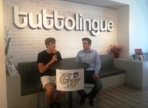 Luca Castorina con Alberto Giuffrida Tuttolingue CT 2020