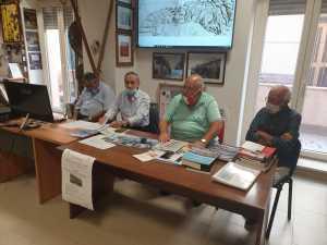 Il tavolo dei relatori: Sindaco di Giardini Naxos, Aldo Di Blasi, Giuseppe Russo e Nino Buda