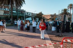 La cerimonia di Messina