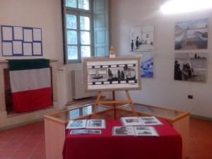 La sla permanente di un museo dedicato a Ippolito Nievo con le opere di Luigi Centra