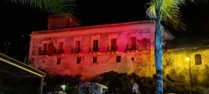 Il Palazzo Paladino illuminato
