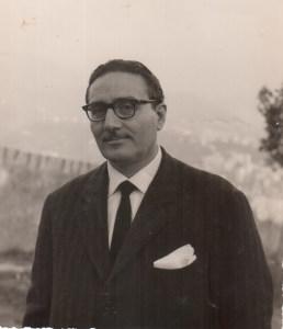 Il Sindaco di Giardini Naxos Lorino Mangano nel 1960