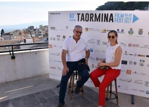 Beppe Manno al film fest di Taormina