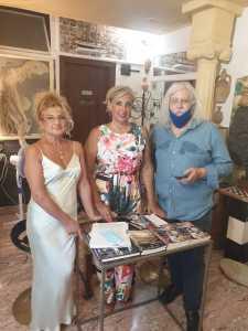 Pancrazia Buzzurro, Angela L0mbardo e l'editore Armando Siciliano
