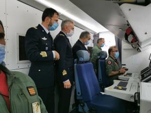 A bordo di un aereo T72