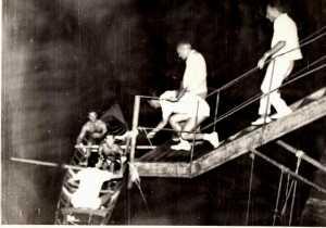 La jole che il 19 agosto del 1960 porto in mare la fiaccola