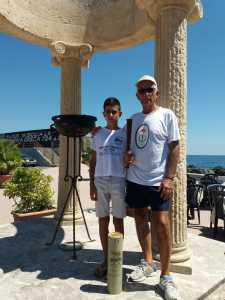 Pippo Vinciguerra e il nipote
