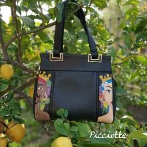 Una borsa dipinta