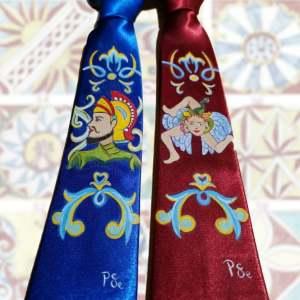 Le cravatte indossate da Ficarra e Picone