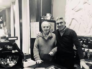 Lo zio Benito ed il nipote Salvo Battaglia