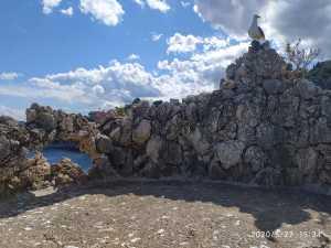 ISOLA BELLA, una terrazza di Villa Bosurgi mimetizzata nella roccia