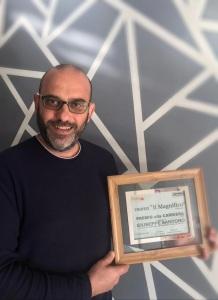 Giuseppe Santoro con il Premio