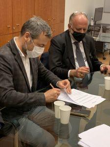Luca lani e Francesco-Saverio Vetere Contratto-Uspi-Cisal