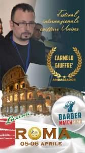 Carmelo Giuffrè ritratto in uno degli eventi in cui è stato protagonista