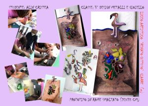 I lavori di Alin e di altri studenti