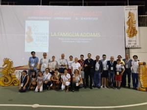 La foto di gruppo dei protagonisti  e degli organizzatori dell'edizione 2020