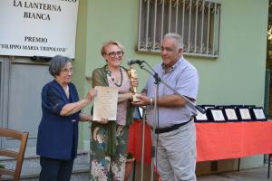 La prima classificata vincitrice dell'edizione 2021 Patrizia Pipino